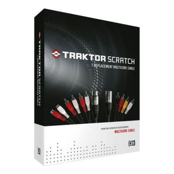 Native Instruments Traktor Scratch Replacement Multicore Cable