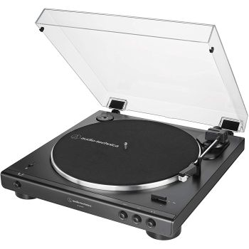 Audio-Technica AT-LP60XBTBK Bluetooth Stereo Turntable (Siyah)