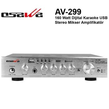 Osawa AV 299 USB-SD-Bluetooth 160 Watt Amfi