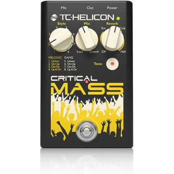 TC Helicon Critical Mass Vokal Pedalı