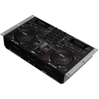 Gemini CDMP-6000 Çiftli CD/MP3/USB Player ve DJ Mixer