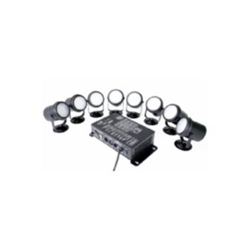 Eclips Led Par Set Mini Çok Renkli 8 li Mini Par Seti