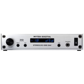Mytek Digital Stereo192-DSD DAC Silver Preamp Version